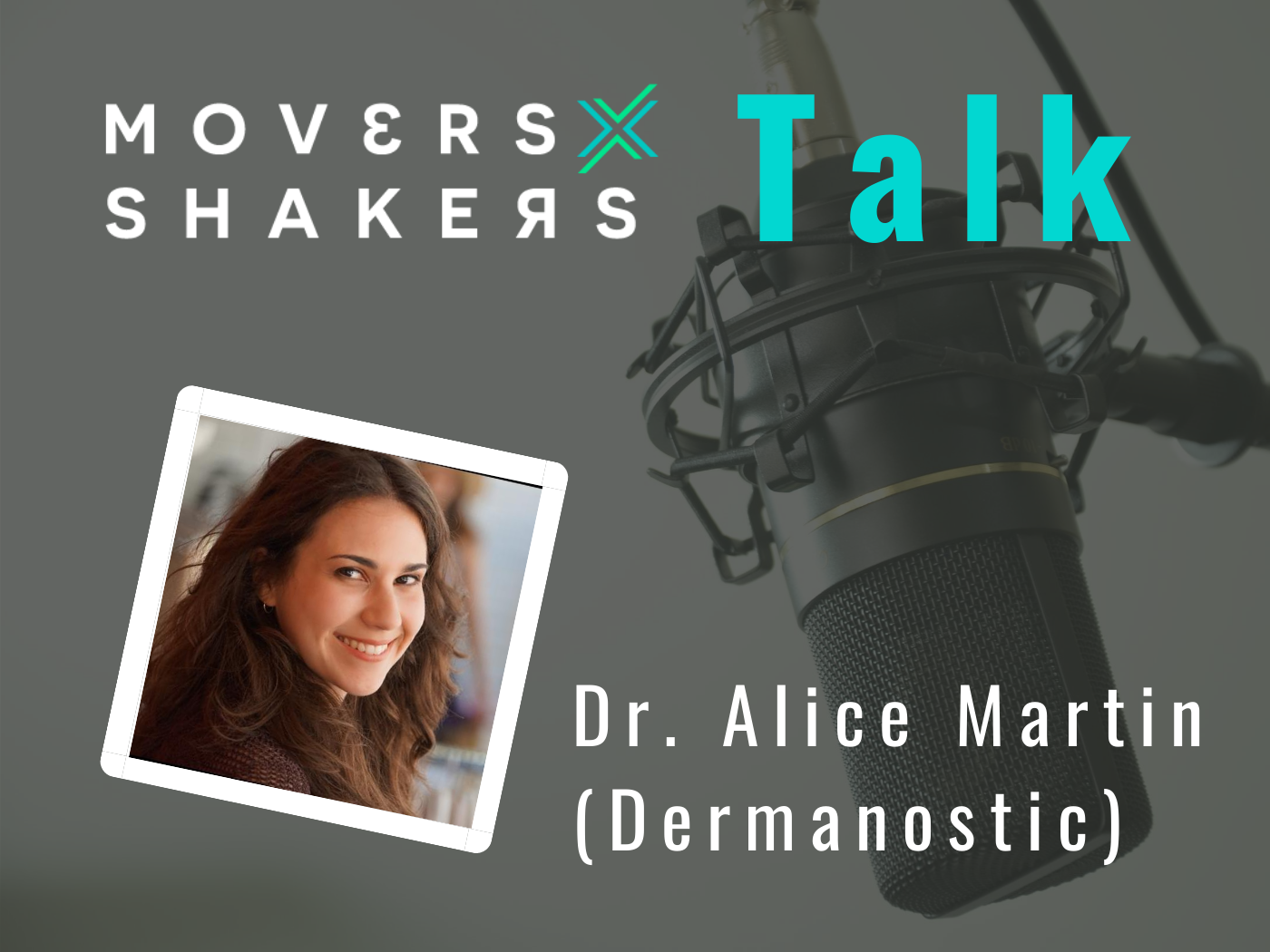 mXs Podcast mit Dr Alice Martin von Dermanostic